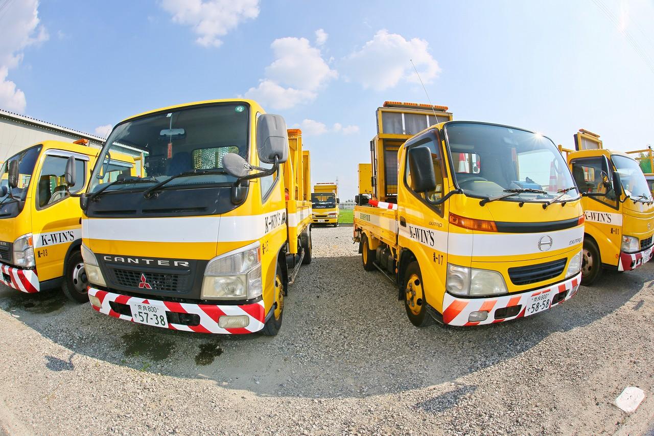 的確な判断と迅速な誘導で、お客様や通行車両を安全に誘導いたします。